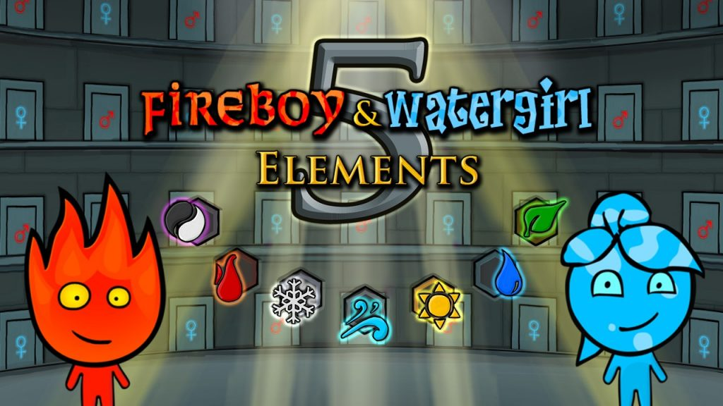 Fireboy e Watergirl 5 Elements