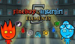 Fireboy e Watergirl 5 Elements