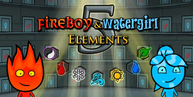 Jogar Fireboy e Watergirl 5 Elements