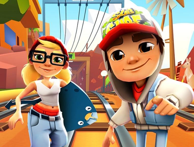 Jogar Subway Surfers online grátis