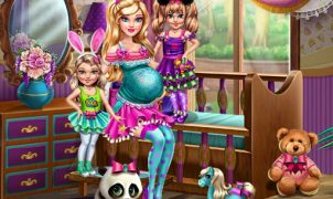 Barbie com Gêmeos (Barbie with Twins)