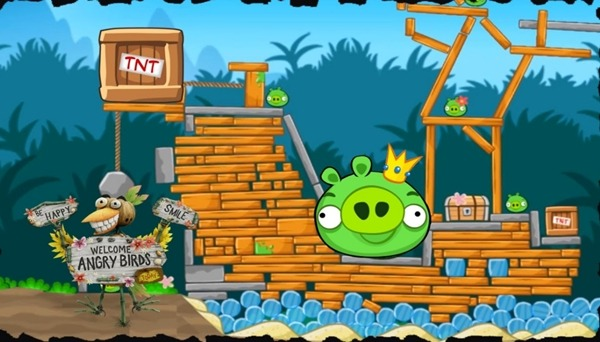 Jogar Angry Birds online grátis