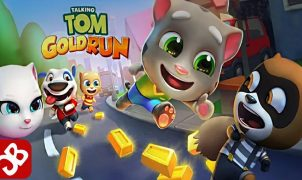 Jogar Talking Tom Gold Run Online