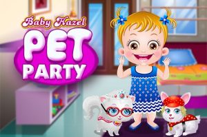 Baby Hazel Pet Party