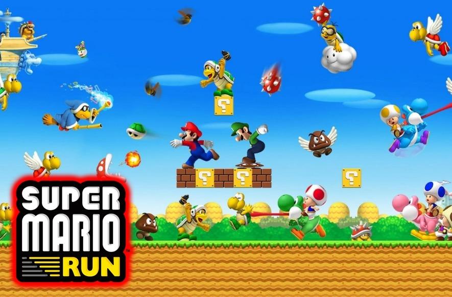 Jogar Super Mario Run Online