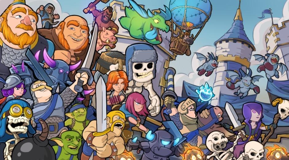 Clash Royale- imagem do jogo 05