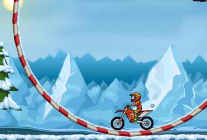 Jogando Moto X3M 4 Winter de graça