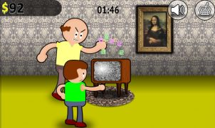 Jogando Old TV