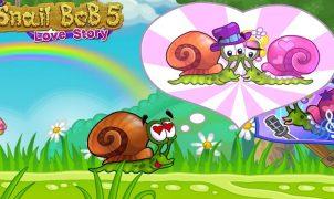 Jogo da lesma Snail Bob 5