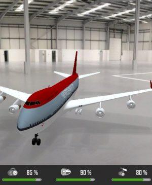 Simulador de Voo - Boeing