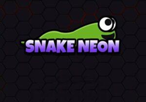 Jogo Snake Neon