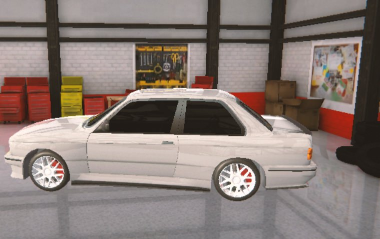 Carro do jogo Burnout Drift 3: Seaport