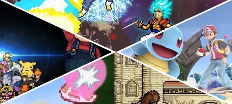 Personagens do jogo Super Smash Flash 2