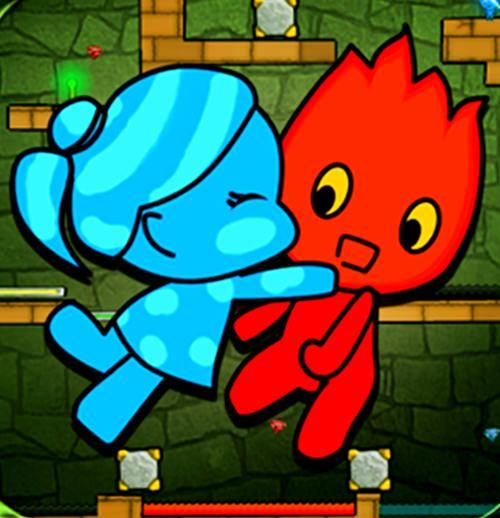Red Boy And Blue Girl - menino do fogo e menina da água