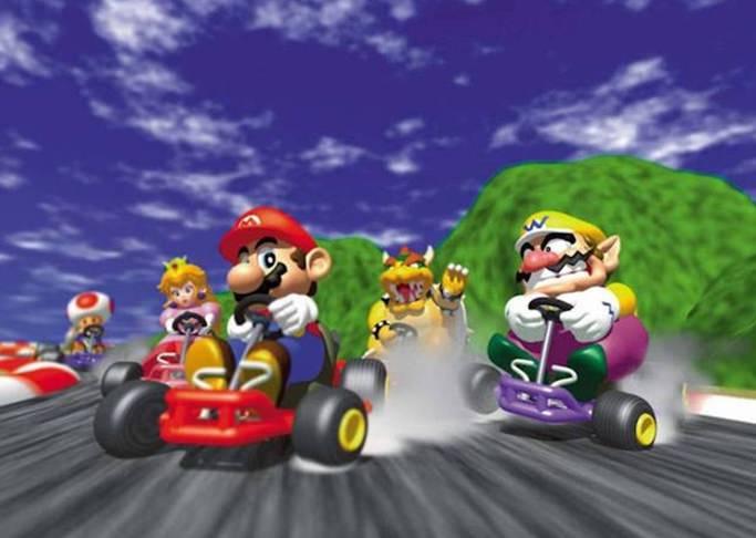Jogar Super Mario Kart grátis