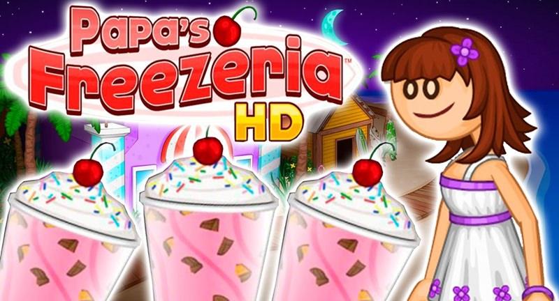 Jogar Papa´s Freezeria - jogo do sorvete