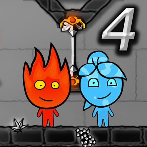 Personagens do jogo Fogo e Água 4