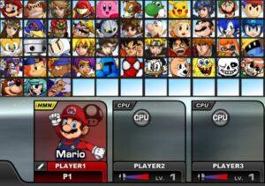 Jogo Super Smash Flash 3 online grátis