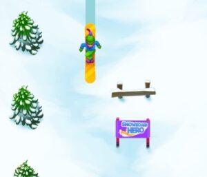 Snowboard Hero - skate na neve