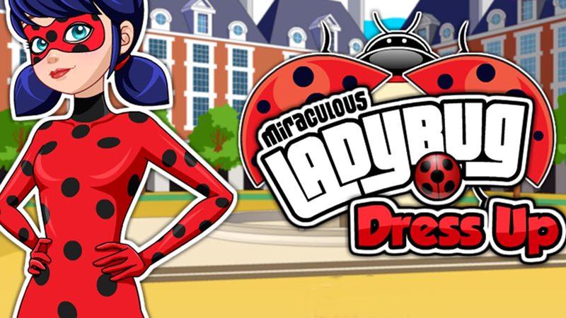 Jogo Miraculous Ladybug Dress Up