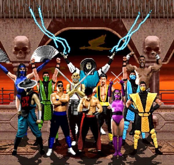 Personagens do jogo Mortal Kombat 2