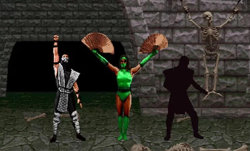 Personagens secretos do Mortal Kombat 2